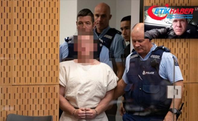 Yeni Zelanda'daki camilere terör saldırısı zanlısı mahkemeye çıkartıldı