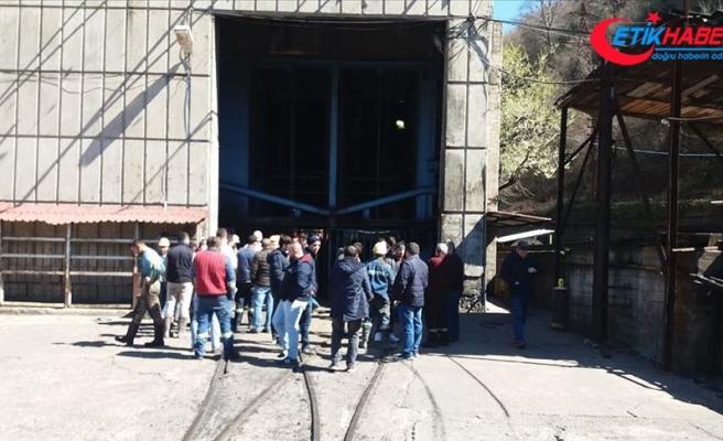 Zonguldak'ta maden ocağında göçük: 4 yaralı