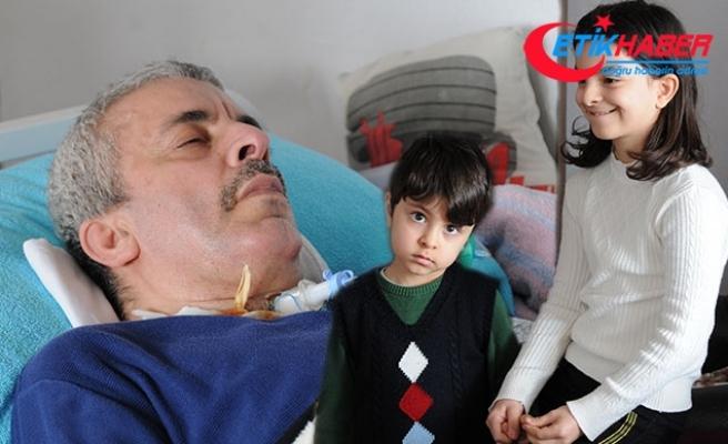 23 Nisan hediyesi olarak ALS hastası dedesine akülü sandalye istedi