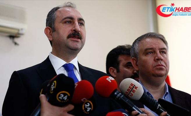 Adalet Bakanı Gül: Yürütme burada söz sahibi değildir