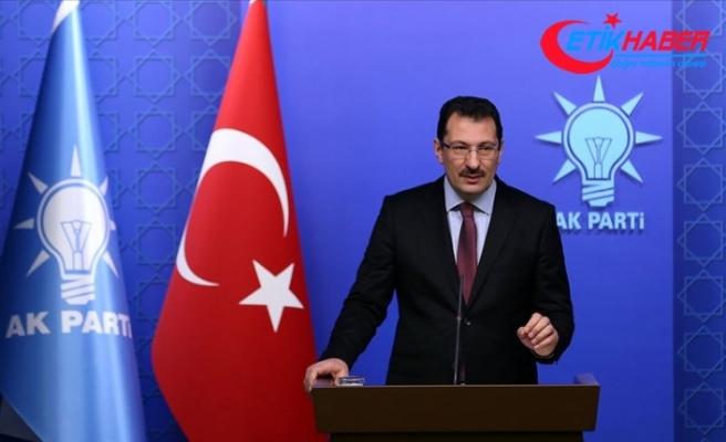 AK Parti Genel Başkan Yardımcısı Yavuz: İstanbul'da seçimin yenilenmesini isteyeceğiz