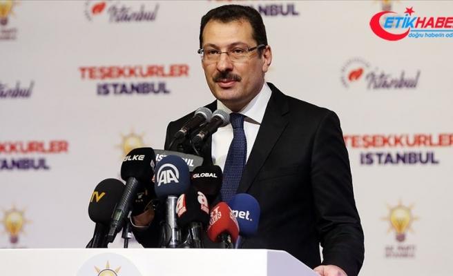 AK Parti Genel Başkan Yardımcısı Yavuz: Demokrasi üstünde şaibe oluşmasın derdindeyiz