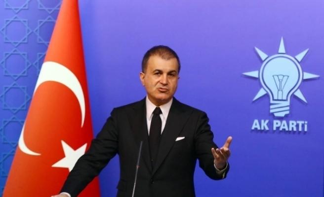 """AK Parti Sözcüsü Çelik: """"Kılıçdaroğlu'na geçmiş olsun"""""""