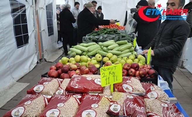 Ankara'da tanzim satışa mobil araçta devam