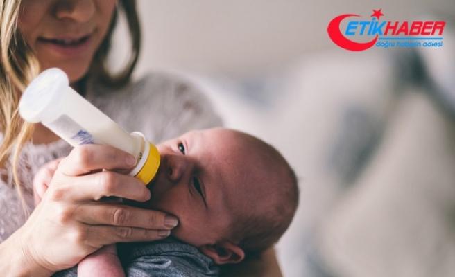 Anne sütü bebeği sakinleştirir