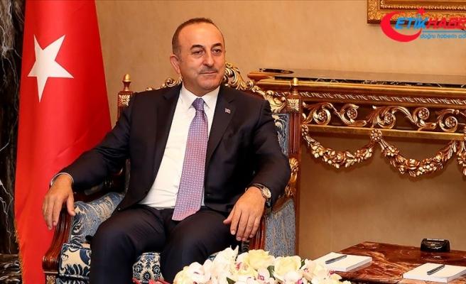 Bakan Çavuşoğlu: Irak ile 20 milyar dolar ticaret hacmine ulaşmak istiyoruz