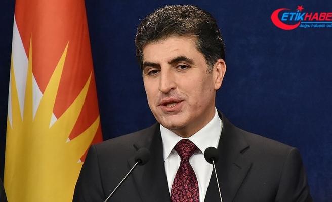 Barzani'den 'sorunların anayasa çerçevesinde çözülmesi' açıklaması