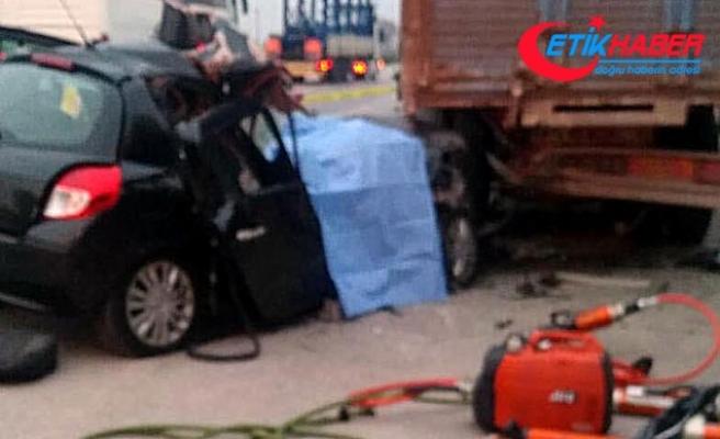 Bedelli askerlik yolunda kaza: 2 ölü, 2 yaralı