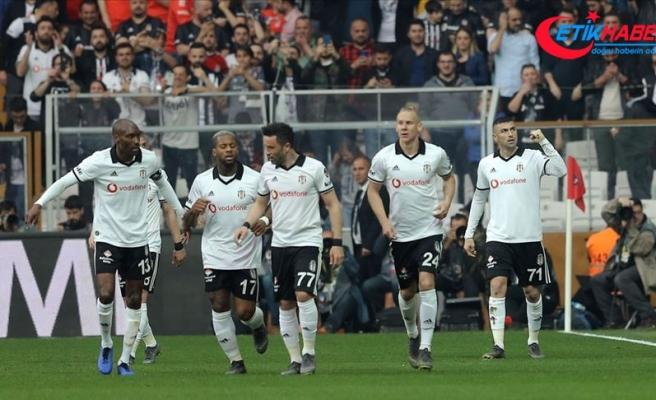 Beşiktaş'tan evinde bol gollü galibiyet