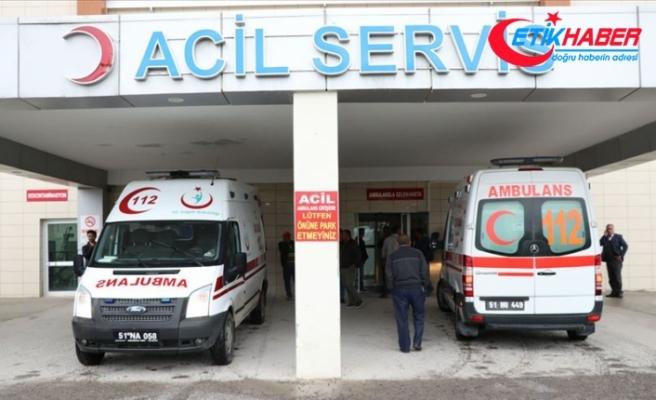Bin 300 kişi hastanelere akın etti