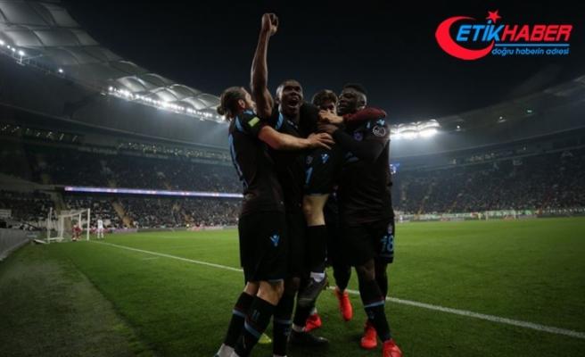 Bursa'da 3 puanın sahibi Trabzonspor
