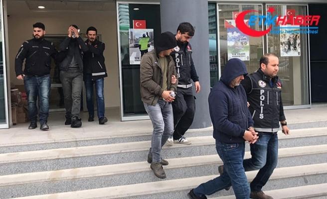 Bursa'da uyuşturucu çetesine şafak operasyonu: 28 gözaltı