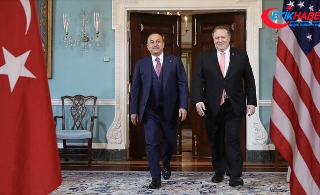 Çavuşoğlu ile Pompeo Suriye ve S-400 konularını görüştü