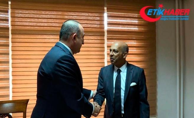 Çavuşoğlu: Teröre karşı mücadelesinde Sri Lanka ile omuz omuzayız
