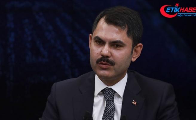 Çevre ve Şehircilik Bakanı Kurum: 350 milyon metrekare yüzölçümlü taşınmaz kiralandı