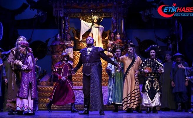 'Çin prensesi' 3 bin kişilik sahneye taşınıyor