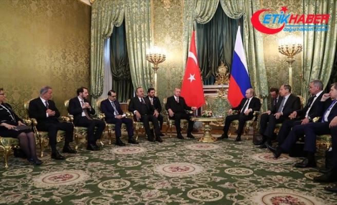 Cumhurbaşkanı Erdoğan: Rusya ile ticarette yeni hedeflere kilitleniyoruz