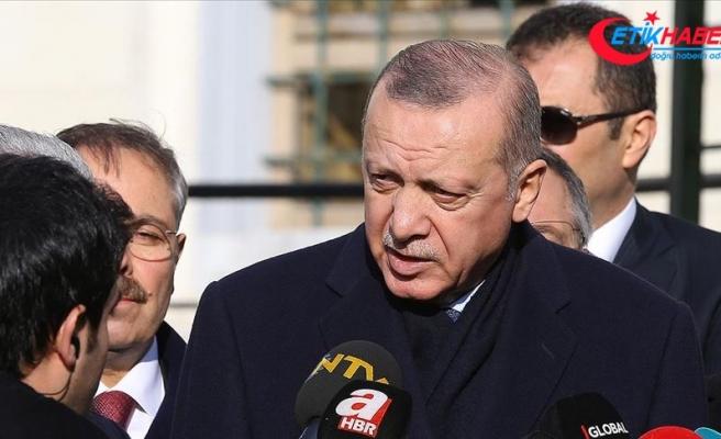 Cumhurbaşkanı Erdoğan: Nihai kararı YSK verecek