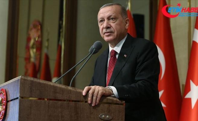 Cumhurbaşkanı Erdoğan: Polis Teşkilatımızı ileriye taşıyacak her adımı desteklemeye devam edeceğiz