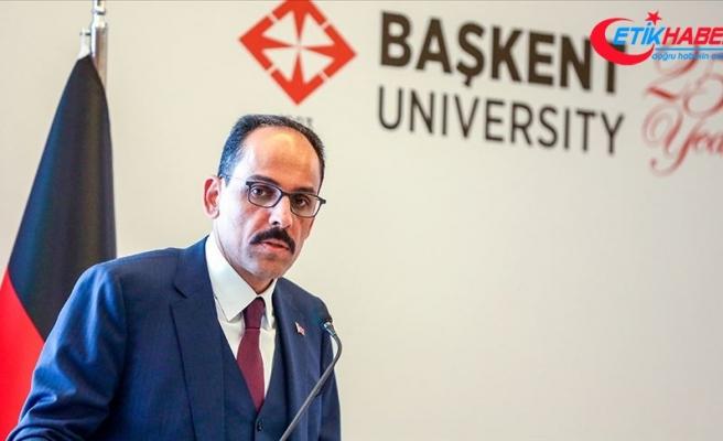 Cumhurbaşkanlığı Sözcüsü Kalın: Türkiye, Batı güvenlik mimarisinin bir parçasıdır