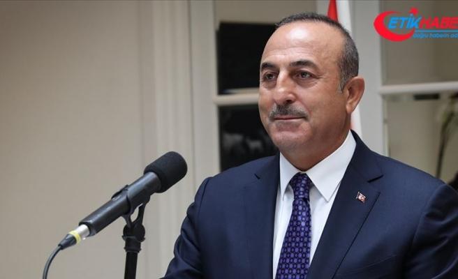 Dışişleri Bakanı Çavuşoğlu: Macron'un 24 Nisan kararının bizim için geçerliliği yok