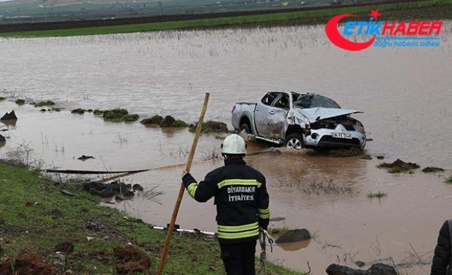 Diyarbakır'da aynı yolda 3 kaza: 7 yaralı