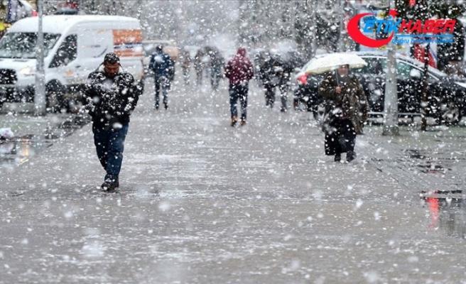 Doğu'da yağmur ve kar yağışı etkili olacak