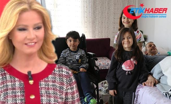 Edanur'un 23 Nisan'da dedesi için istediği akülü sandalye alındı