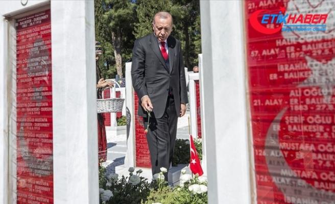 Erdoğan: Ortak acıları barışın aracı haline dönüştürmede Çanakkale örnek olmalı