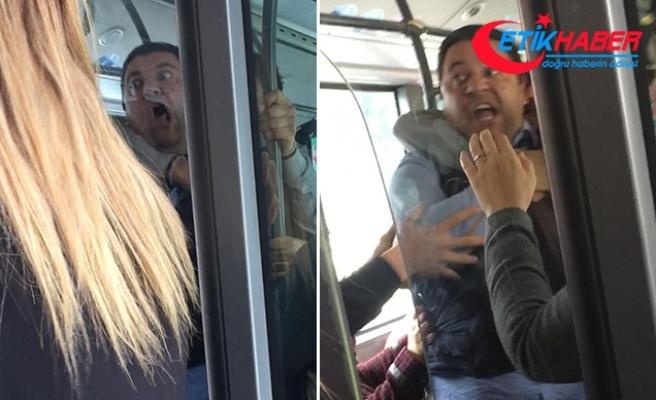 ESHOT şoföründen, kendisini uyaran yolcuya: Seni öldürürüm