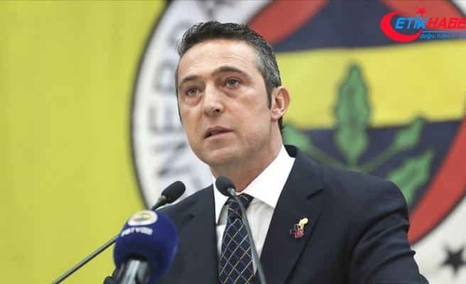 Fenerbahçe Kulübü Başkanı Koç: Ne yazık ki şu an istediğimiz noktada değiliz