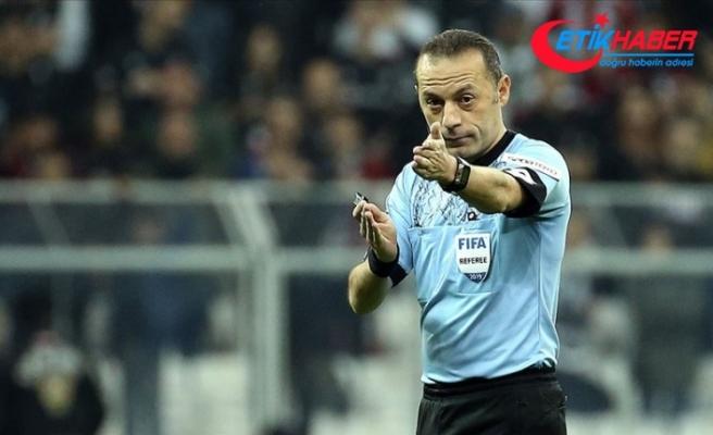 Fenerbahçe-Trabzonspor maçını Cüneyt Çakır yönetecek