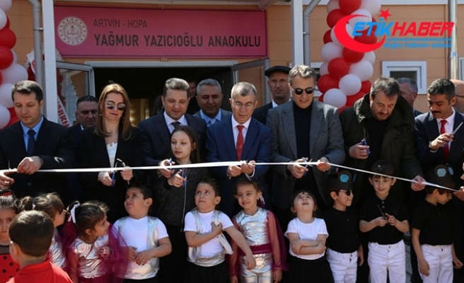 Fikret Orman, Arvin'de anaokulu açılışına katıldı
