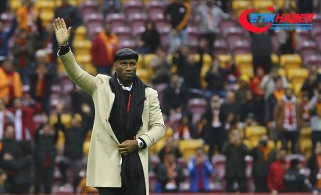 Galatasaray'ın dünyaca ünlü eski futbolcusu Drogba: Buraya dönmek benim için çok özel