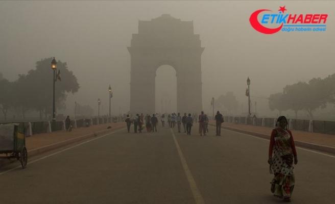 Hindistan'da hava kirliliği 1,2 milyon kişinin ölümüne yol açtı