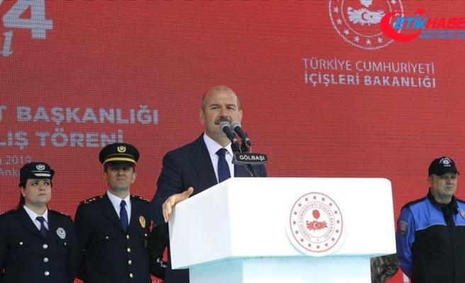 İçişleri Bakanı Soylu: Gayretimiz içimize salınmak istenen fitneyi yok etmektir