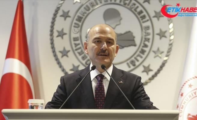 İçişleri Bakanı Soylu: PKK'ya kucak açanların müracaatı şahsım adına şeref beratıdır