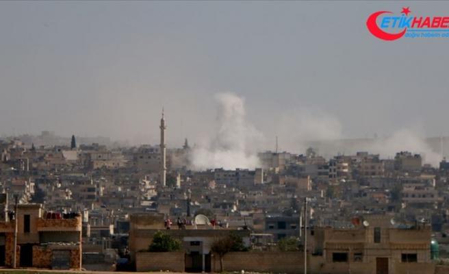 İdlib'e hava saldırısı: 1 ölü