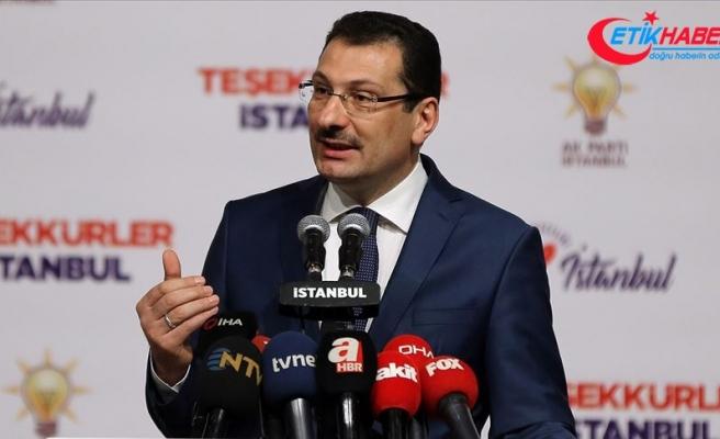 'İstanbul'da oyların yeniden sayılması için YSK'ye başvuracağız'