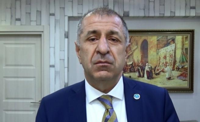 İP'te şok istifa: Ümit Özdağ istifa etti