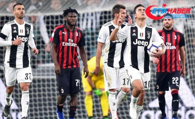 Juventus, Milan'ı ikinci yarıda geçti