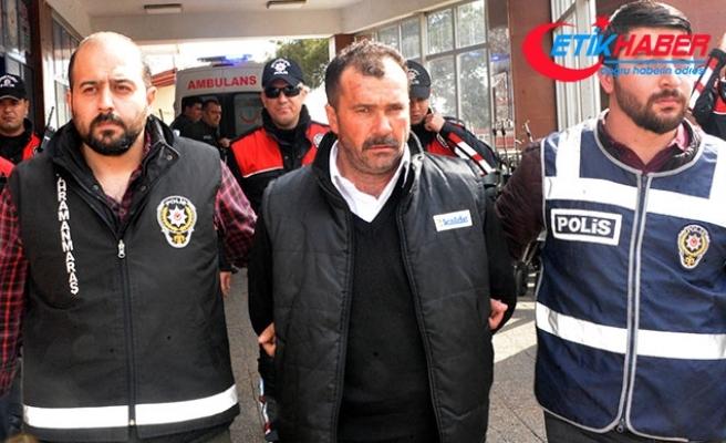 Kayınbiraderinin eşini çocuğunun gözü önünde öldüren kişi tutuklandı
