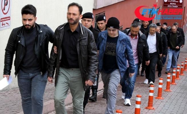 Kayseri'de 11 ihraç polis, FETÖ'den tutuklandı