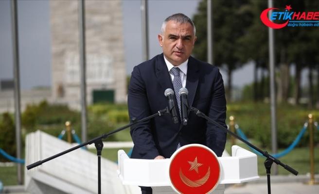 Kültür ve Turizm Bakanı Ersoy: Mehmetçik insanlık değerlerini savunmuş, korumuş ve kurtarmıştır