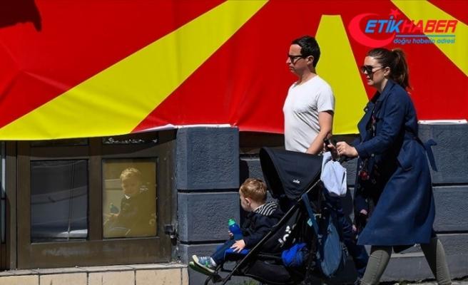 Kuzey Makedonya cumhurbaşkanlığı seçimi için sandık başında