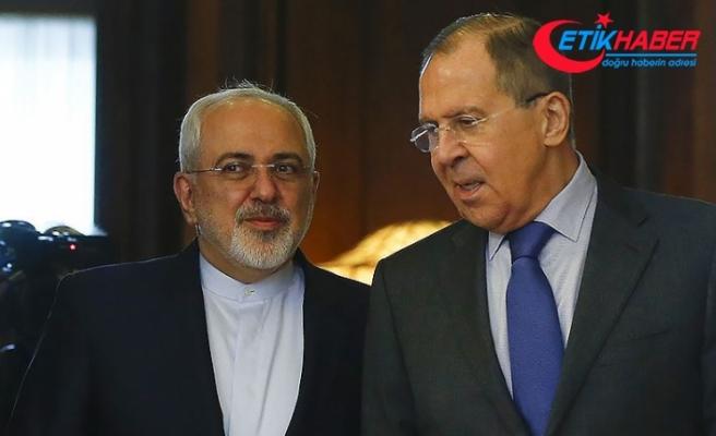 Lavrov İranlı mevkidaşı Zarif ile Suriye meselesini görüştü
