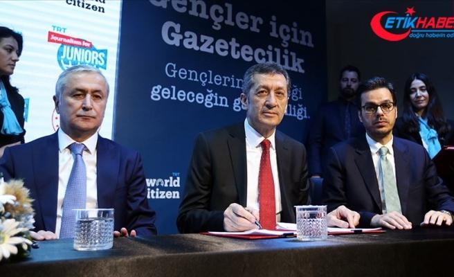 MEB-TRT iş birliğiyle lise öğrencilerine gazetecilik eğitimleri başlıyor