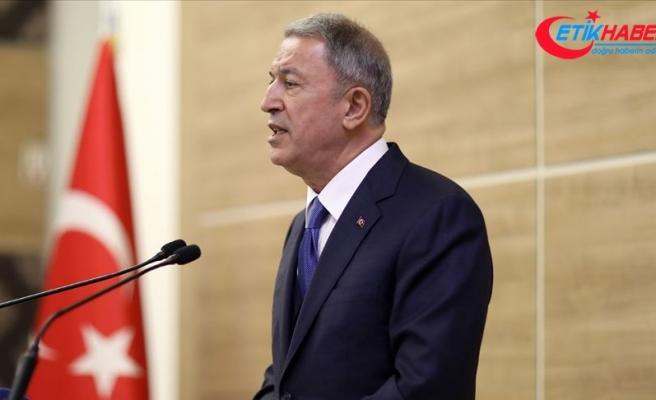 Milli Savunma Bakanı Akar: Gayri askeri adaların silahlandırılması uluslararası hukukun ihlalidir