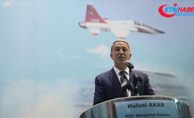 Milli Savunma Bakanı Akar: Terör örgütüne büyük bir darbe vuruldu