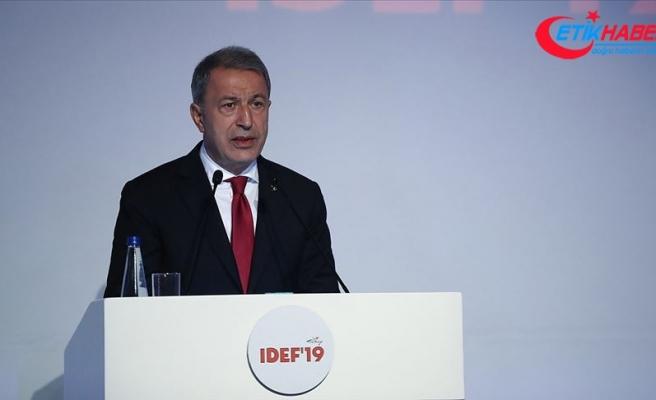 Milli Savunma Bakanı Akar: TSK tarafından kullanılan milli silahlarımız yeteneklerini ispatladı